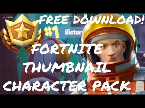 Free Fortnite Thumbnail Character Pack W Download Free Graphics