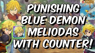 PUNISHING Blue Demon Meliodas with Green Meliodas Counter - Seven Deadly Sins: Grand Cross Global