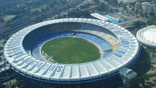 Стадион Маракана.  Рио-де-Жанейро, Бразилия. Maracana Stadium. Rio de Janeiro, Brazil.
