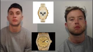 Two Men Jailed After Rolex Robbery From 80 Year Old Man That Turned Out To Be A Michael Kors Watch