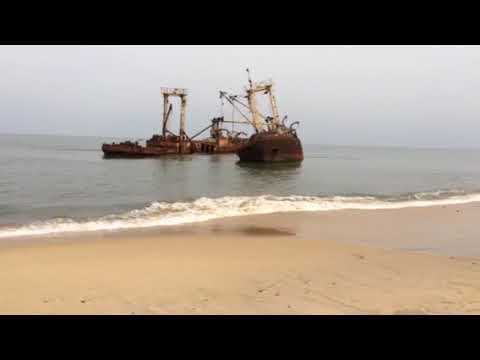 Ship Cemetary, Luanda Angola