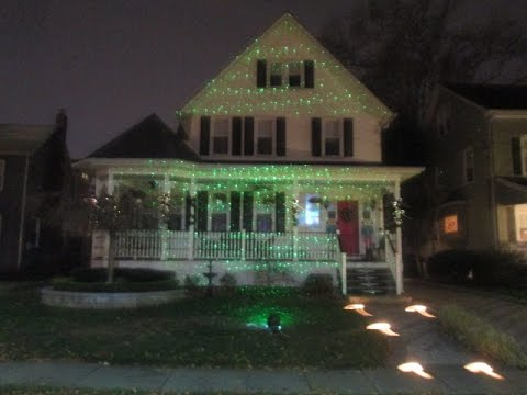 bliss laser light christmas decoration on windys home - Laser Lights Christmas Decorations