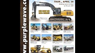 Construction equipment auction | April 28, 2016 | Purple Wave