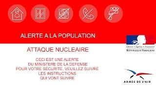 [FAKE] Alerte nucléaire M6 avec pub EAS/SAIP
