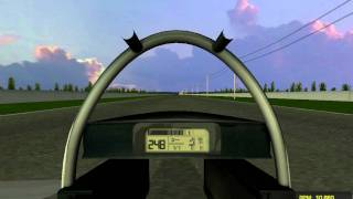 (rFactor) THRUST SSC Top Speed 2777 km/h