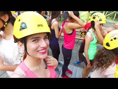 AventuraXtremaTV Arborismo candidatas a Miss Teen International - Sendero Akuti Po'i