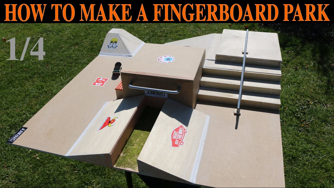How To Build A Fingerboard Park Tutorial 14