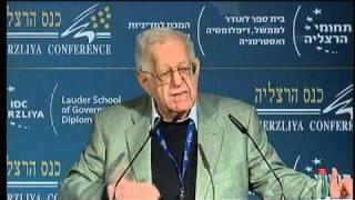 Shlomo Avineri, Fmr. Dir. General, Ministry of Foreign Affairs  - Herzliya Conference 2011