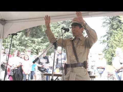 Rambo & Life For Mile Actor Stephen Chang at Rambo Bridge Final Take, Hope BC