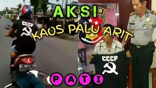 PEMOTOR KAOS PALU ARIT DI PATI (Jalan Winong - Jakenan)