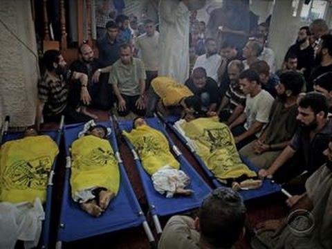 Four Palestinian Children Killed By Israeli Strike