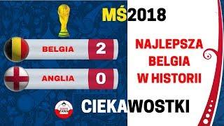 Mecz o 3 miejsce Belgia - Anglia 2:0 Ciekawostki 2018