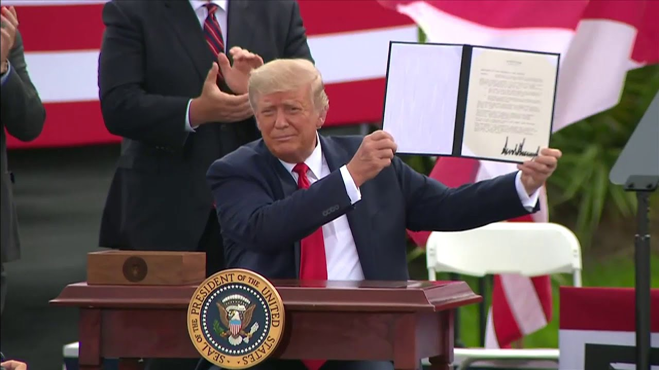 Breaking: Trump signs surprise Executive Order on Environment