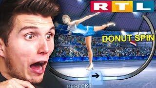 Eiskunstlauf! IST DAS EUER ERNST? | RTL Wintersport Simulator
