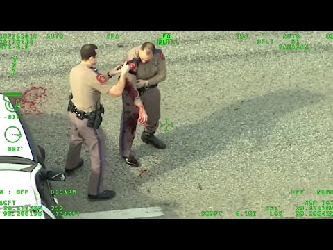 Dramatic Footage Shows Deadly Shootout With DPS Trooper, Suspect