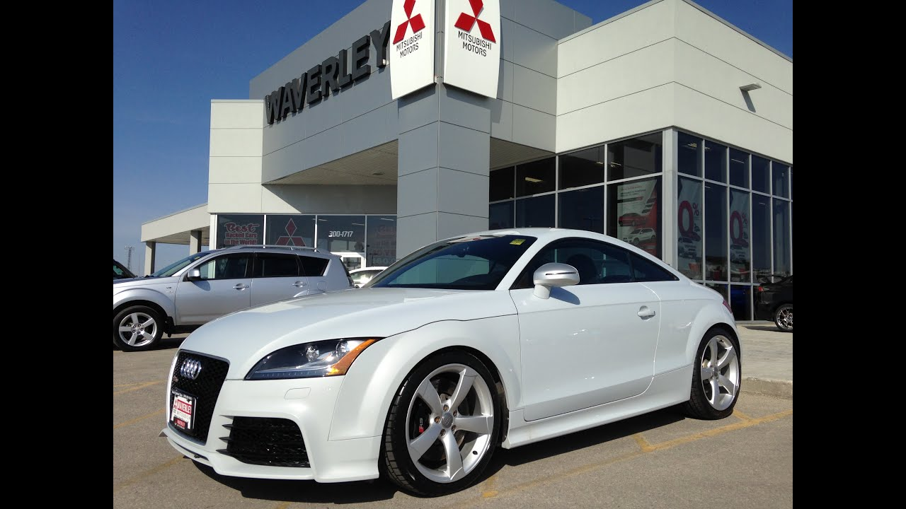 2012 Audi TT RS Waverley Mitsubishi, Winnipeg, Manitoba - YouTube