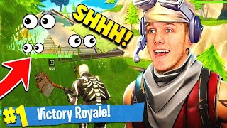 PYRAMID TROLLING FOR THE WIN? (Fortnite Battle Royale)