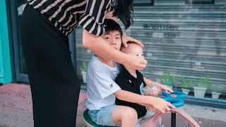 Dongguan Old street #14 第一人称街头摄影 莞城老街 经典35等效焦距 富士 classic chrome与后期精修对比