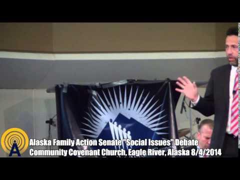 Alaska Family Action Senate Social Issues Debate