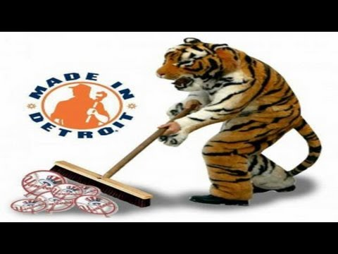 DETROIT TIGERS SWEEP THE NEW YORK YANKEES, GOING TO THE WORLD SERIES!!
