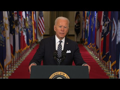 Biden: 'We all lost something' in pandemic year