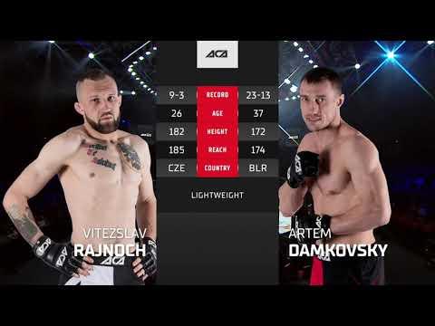 ACA 122 Нокаут вечера: Витезслав Райнох vs. Артем Дамковский   Vitezslav Rajnoch vs. Artem Damkovsky