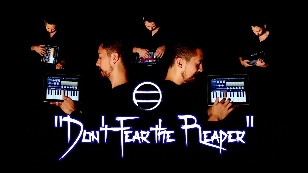 """""""(Don't Fear) The Reaper"""" played entirely on IPAD APPS"""