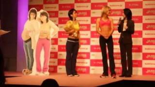 2011年4月19日「くわばたりえ産後太り解消プロジェクト」の結果発表、2/...