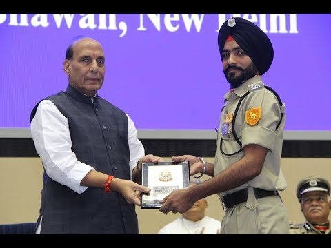 LIVE: HM Shri Rajnath Singh participate in Investiture ceremony of BSF