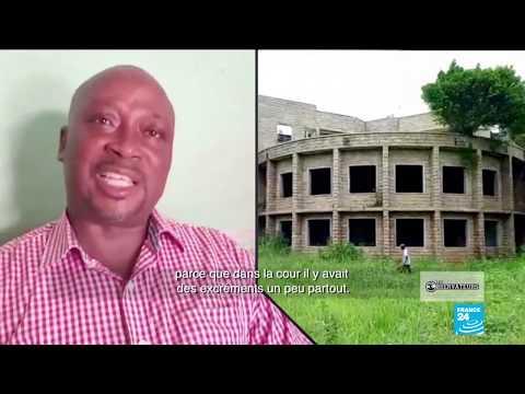 Liberia : en ruines, un ancien palais présidentiel envahi par la brousse