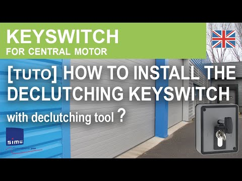 Geba Key Switch Wiring Diagram Light Timer Declutching Keyswitch Installation Youtube