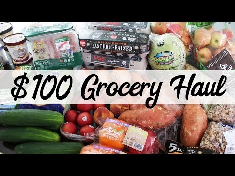 Healthy Grocery Haul (with treats!) | Organic Groceries for CHEAP