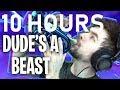10 HOURS | DUDE'S A BEAST | Fortnite (Battle Royale) Jacksepticeye Songify Remix By Schmoyoho
