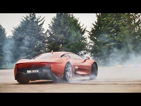 Test Drive James Bond villain's Jaguar C-X75 Supercar