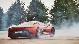 Test Drive James Bond villain's Jaguar C-X75 Supercar