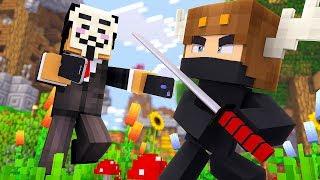 Minecraft HACKER - NINJAS BATTLE HACKERS TO SAVE DAYCARE! (Minecraft Kids Roleplay)