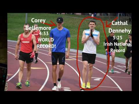 Corey Bellmore Breaks Beer Mile World Record - On The Run