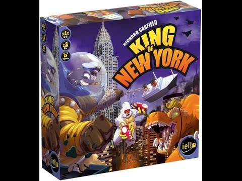 King of New York review - Board Game Brawl