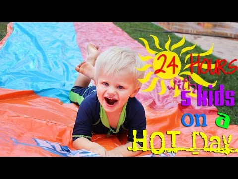 Thumbnail: 24 Hours With 5 Kids on a Hot Day