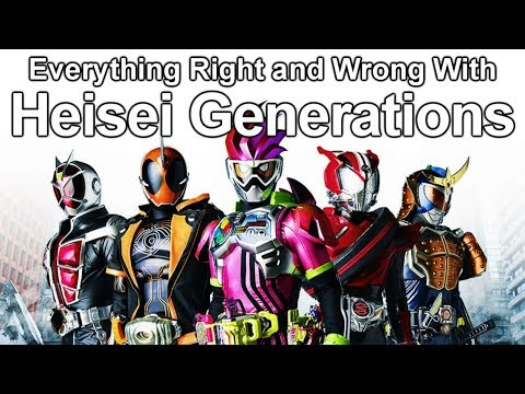 Everything Right and Wrong With Heisei Generations