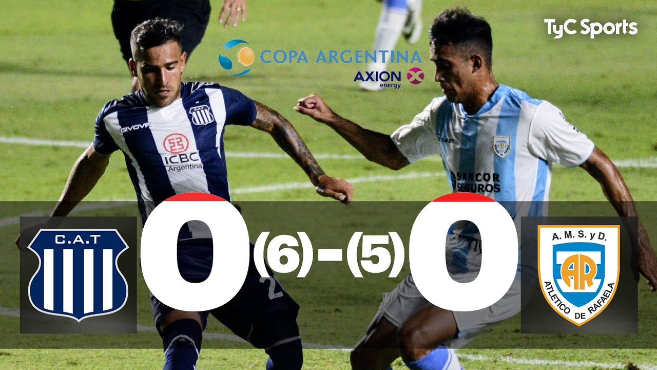 Talleres 0 (6)-(5) 0 Atlético de Rafaela | Copa Argentina