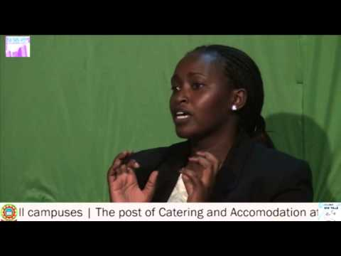 CHECK POINT: JKUSO CATERING SECRETARY ASPIRANTS INTERVIEW 2013