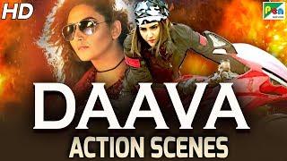 DAAVA - Best Action Scenes | Hindi Dubbed Movie | Veera Ranachandi | Ragini Dwivedi, Ramesh Bhat