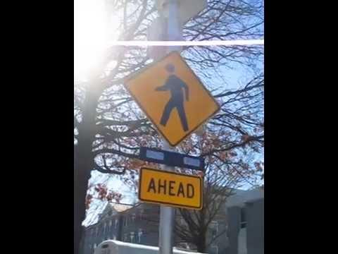 Crosswalk Warning Lights