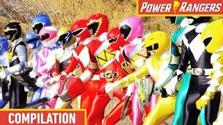 Top 5 Ranger Team Ups 💪 Dino Fury, Beast Morphers & More! ⚡ Power Rangers Kids ⚡ Action for Kids
