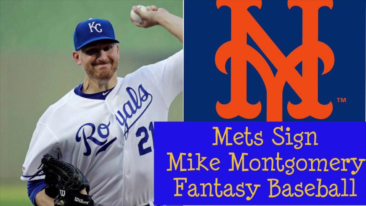 New York Mets Sign Mike Montgomery Fantasy Baseball /MLB News