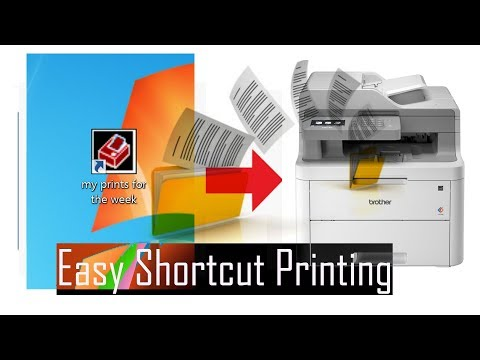 Create A Desktop Shortcut Icon To Print Files In Folder Quickly With Batch And Print Pro