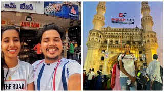 All India Trip In TVS NTORQ || nadu Exploring Hyderabad's Best Biriyani || Charminar ||Hussain Sagar