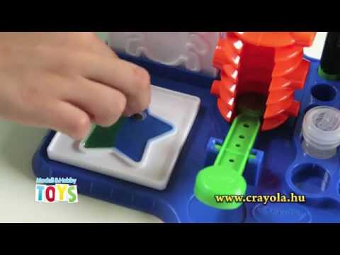 Crayola Matrica varázsműhely - YouTube