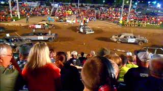 2018 Williams County Demolition Derby